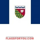 3' x 5' Northwest Territories High Wind, US Made Flag