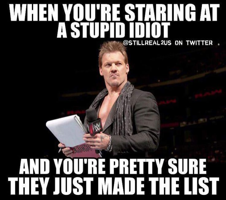 The best thing of WWE 2016 Chris Jericho and The List