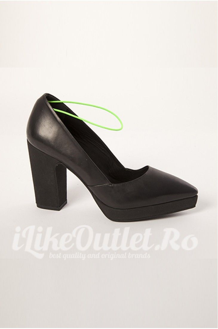 Pantofi negri cu platforma - COS