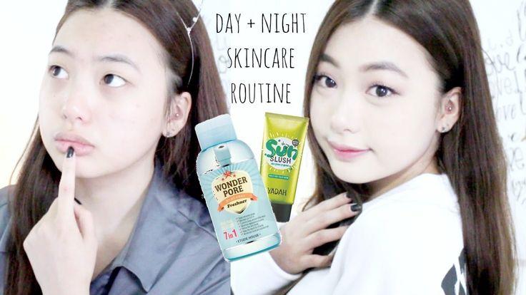 DAY + NIGHT SKINCARE ROUTINE ft. BB Cosmetics