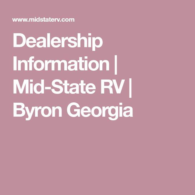 Dealership Information | Mid-State RV | Byron Georgia