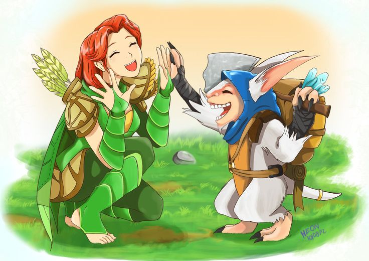 That's how you feel when you get good teamwork going. ~Windrunner ~Meepo ~Dota 2…