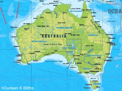 Australia. A lot larger than you think* | 17 Maps Of Australia That Will Make Your Mind Boggle