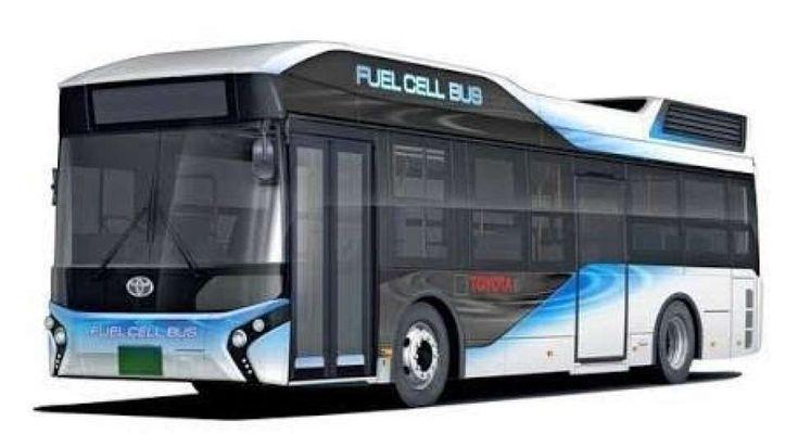 Bus Berbahan Bakar Hidrogen Beroperasi Mulai Tahun Depan