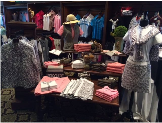 Women's Display in the TPC Sawgrass Golf Shop