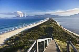 Bruny Island, or Lunawannaaloona in Aborigine, was named after the French admiral Bruny D'Encetastreaux who was the first European to land in the region.