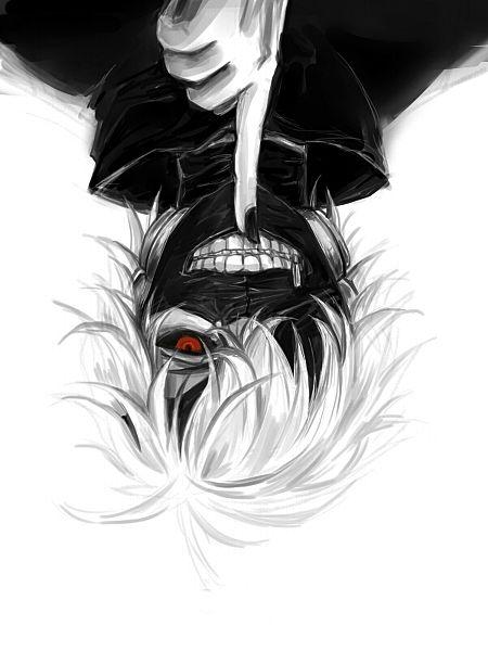 El protagonista del anime Tokyo Ghoul