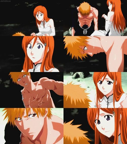 Ichigo and Orihime. At first i was a total Ichirukia then....I was like... yeah. Ichihime is NOT that bad...then i was all like-PLEASE HAPPEN.