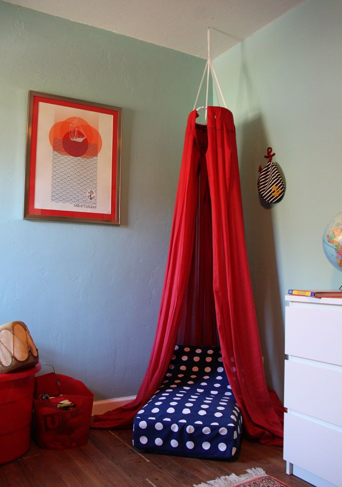 DIY Reading Nook : DIY: Cozy Reading Fort for Kids: DIY home