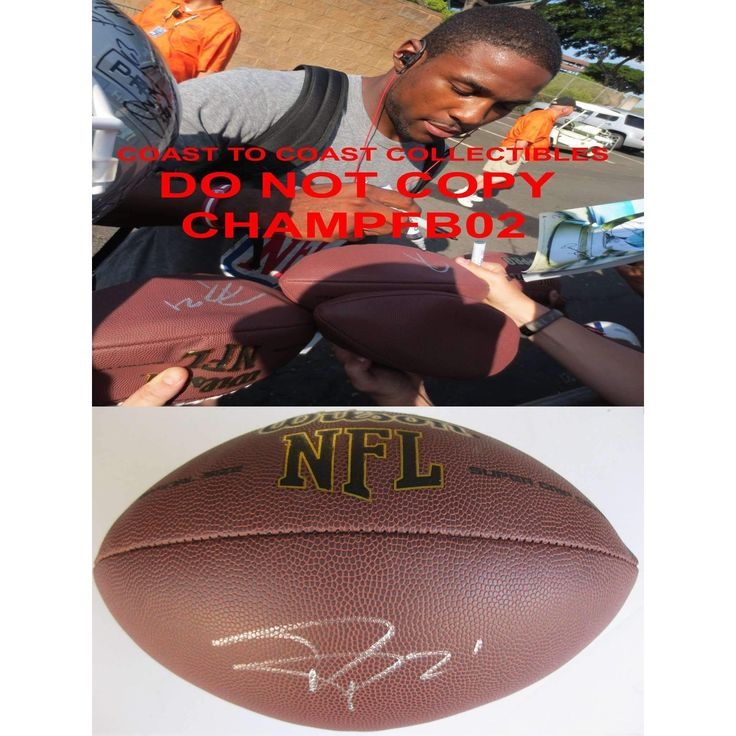 Patrick Peterson, Arizona Cardinals, LSU Tigers, Signed, Autographed, NFL Football, a Coa with the Proof Photo of Patrick Signing Will Be Included,