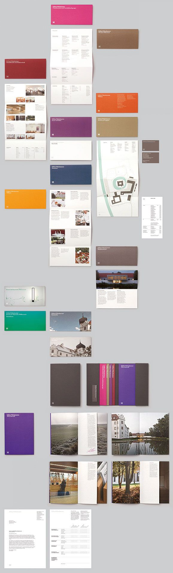 Modern #brochure and #booklet design.
