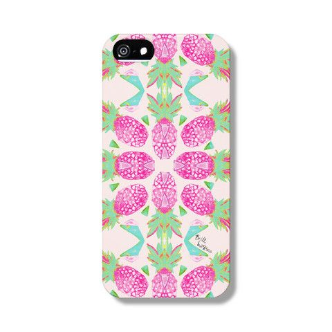 Pine Blooms Phone Case from The Dairy Designed by BRITT LASPINA x