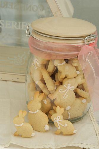 Mini Bunny Cookies   Flickr - Photo Sharing!