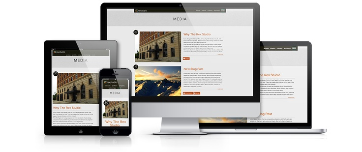 Rex Studio   Michigan Web Design, Web Development, Mobile Apps & Hosting