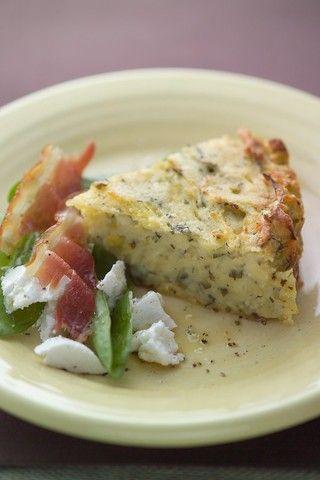 Welsh Potato Slice Recipe | Allyson Gofton