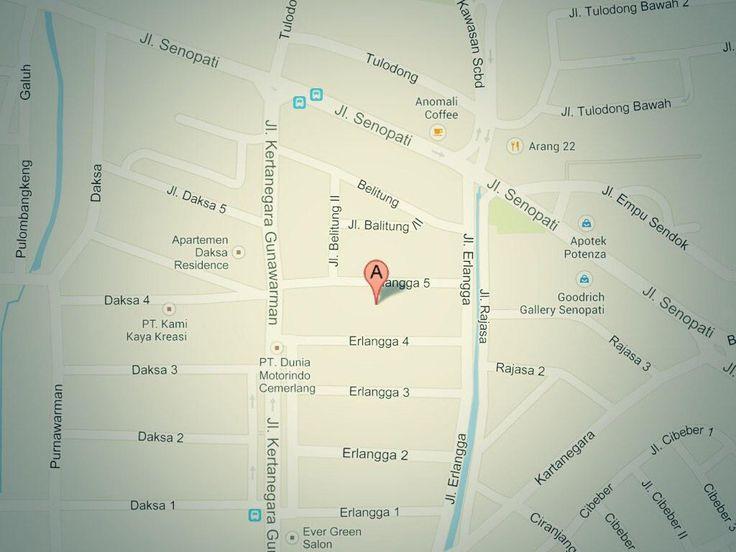 Location Map iCanStudioLive @ve_arief @ikanatassa @Gramedia