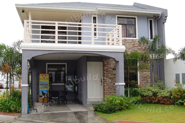 Filipino simple two storey dream home design philippines for Exterior design of 2 storey house