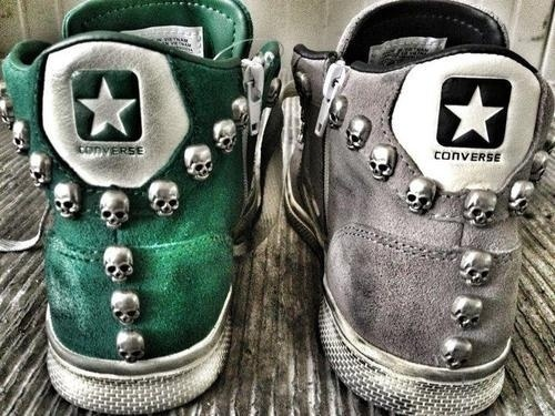 #converse #skulls