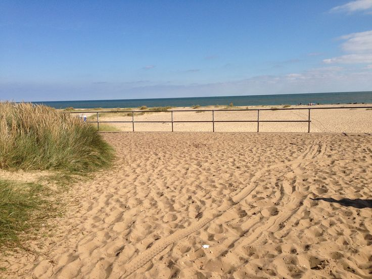 Haven Caister beach.