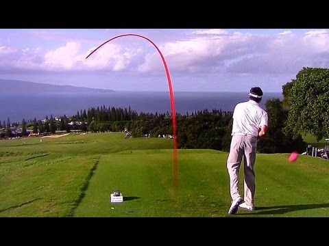 Golf ProTracer Compilation - 2015 Hyundai Tournament of Champions Rd 1-2 - YouTube