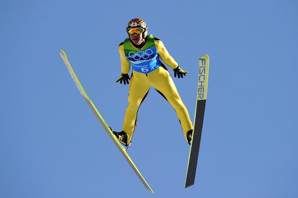 Noriaki Kasai the grand old man of ski jumping
