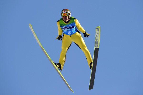 Noriaki Kasai the grand old man of ski jumping