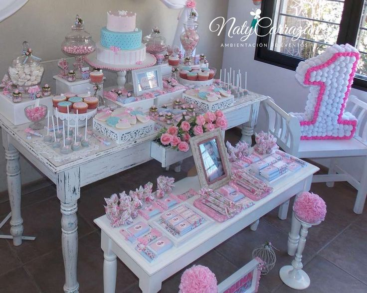 Shabby chic Birthday Party Ideas | Photo 1 of 18