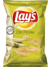 Dill Pickle chips - almost as yummy as Ketchup chips