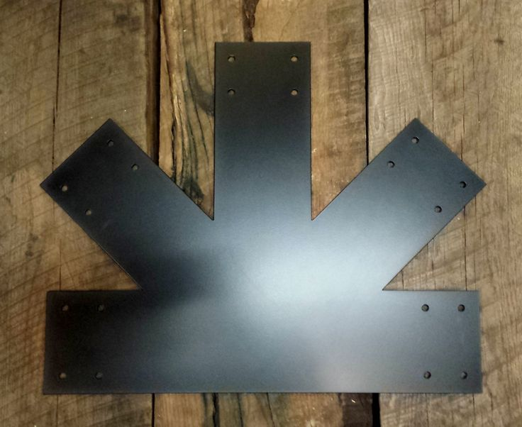 Decorative Metal Brackets For Wood Beams  from i.pinimg.com