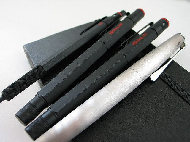 Rotrings and a Lamy | Rotring 600 mechanical pencil, Rotring… | Flickr