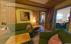 Akelei - Leading Family Hotel & Resort Alpenrose, Großes Appartement
