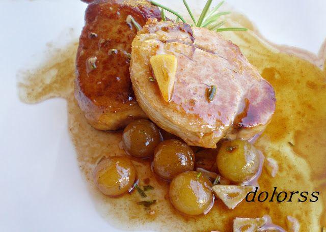 Blog de cuina de la dolorss: Solomillo de cerdo con uvas
