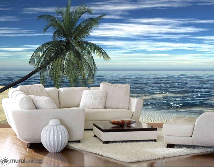 Paradise Island | Buy Prepasted Wallpaper Murals Online - Muralunique.com
