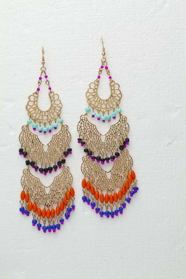 Indo-chic earrings , Aldo Accessories R220