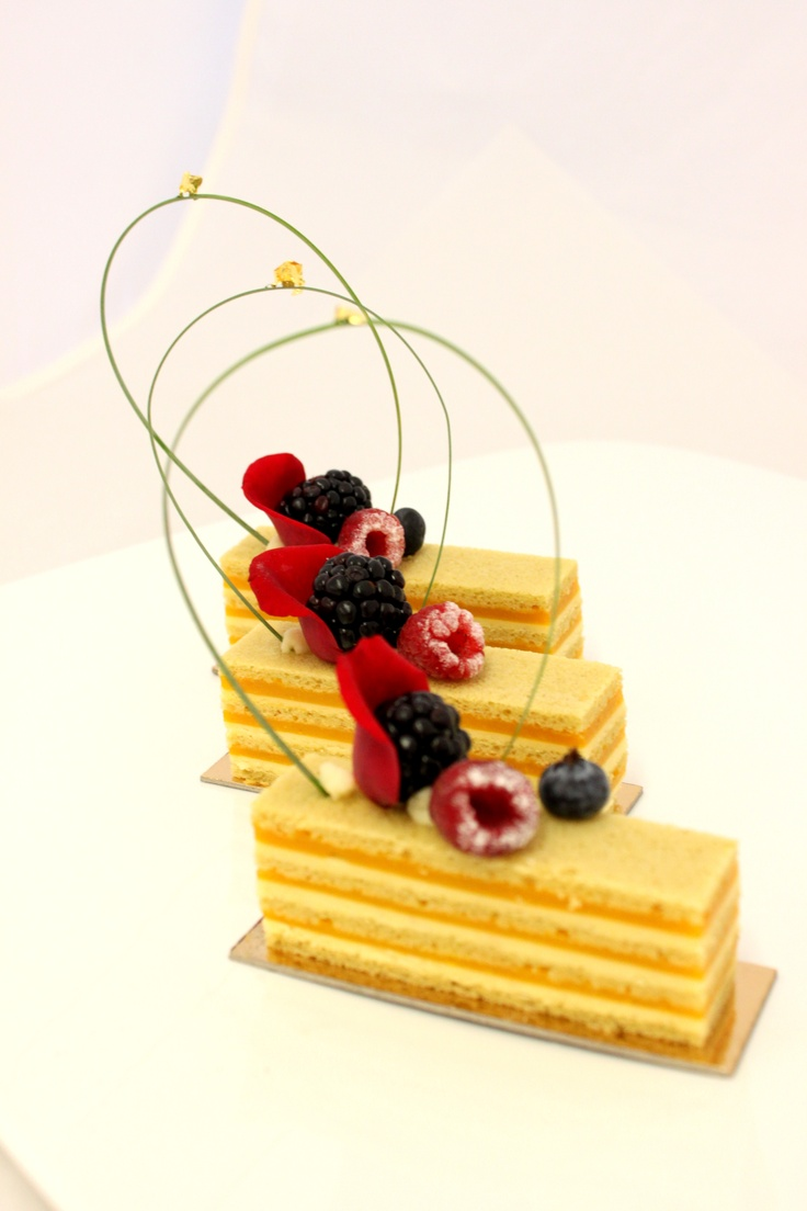 @Johan Martin creation from Barry Callebaut Chocolate Academy-Chicago Holiday Pastry Course