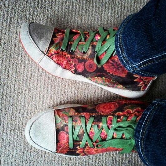Love my shoes #desigual