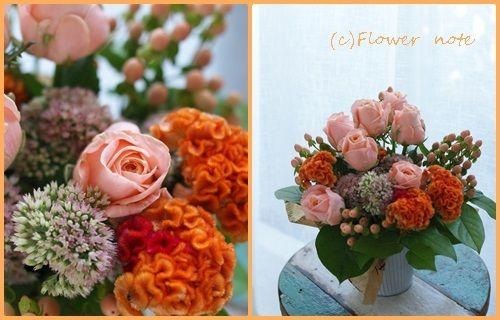 【今日の贈花】3年半ぶりのご注文は。。。|Flower note の 花日記 (横浜・上大岡 アレンジメント教室)
