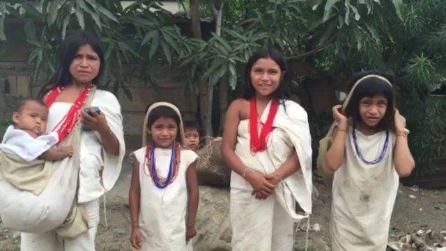 Indigenous Kogi in Rio Ancho