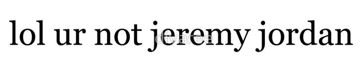 For all those (like me) in love with Jeremy Jordan