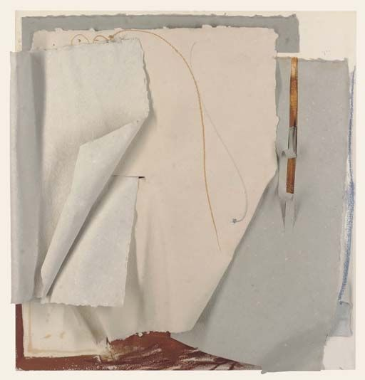 Paper Sculpture by Anthony Caro