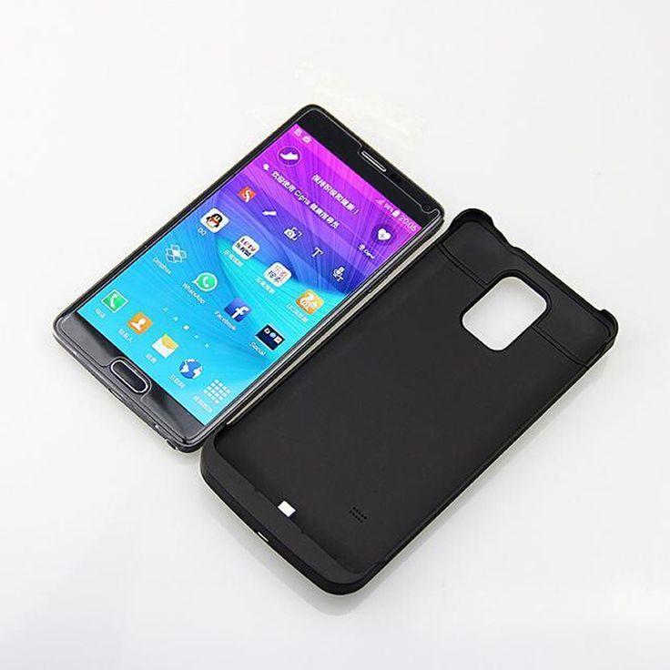 4800 Mah Backup Battery Power Bank Case For Samsung Galaxy Note 4 Note4 N9100 4800mAh External. Click visit to buy