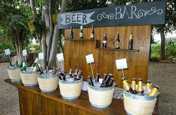 10 maneiras diferentes de servir comidinhas e bebidas no casamento