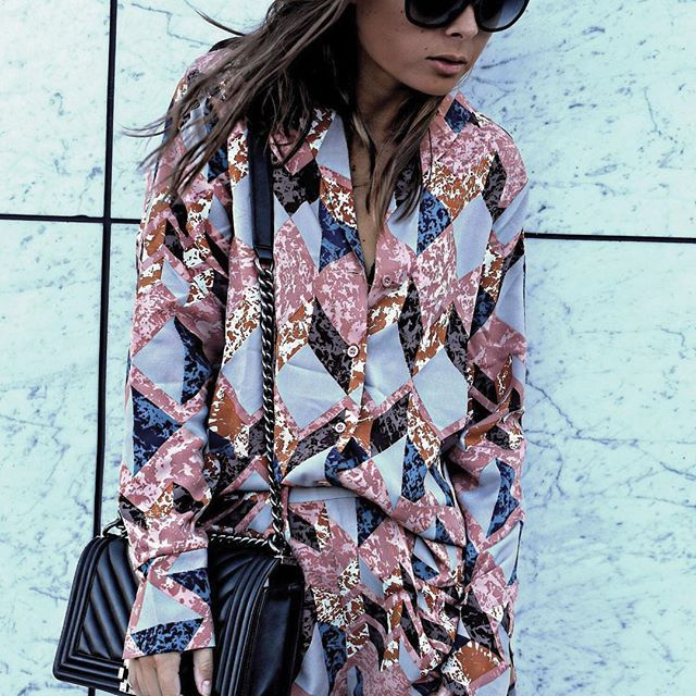 SATURDAY STYLIN' ➖@malinakragmann2 in the Maja Pyjama Set . #styleitstrong . . . . #ootd #ootn #lotd #wiwt #instastyle #style #fblogger #fbloggers