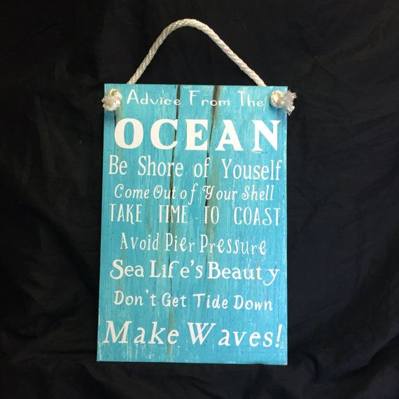 Ocean Quotes  Outdoor living Advice From the by JackJacksWayart