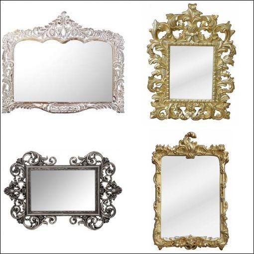 Redoutable Miroir Baroque Pas Cher Décoration Française In 2018