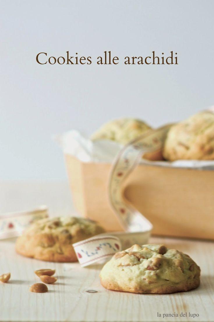 la pancia del lupo: Cookies alle arachidi