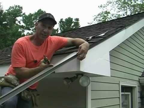 Installing Drip Edge On Your Roof Youtube Roofs