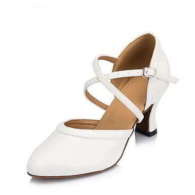 T.T-Q Femmes Ballroom Chaussures de Danse Satin Paillette Heel Professionnel Noir Fleur Latin Sandales Salsa Jazz Tango Swing Pratique Indoor Performance A4RmvVv