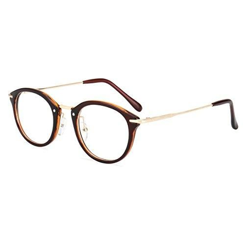 ROYAL GIRL Small Round Glasses Women Metal Frame Clear Lens Vintage Eyeglasses – Products