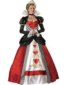 Kostium Królowa wszystkich serc supreme damski